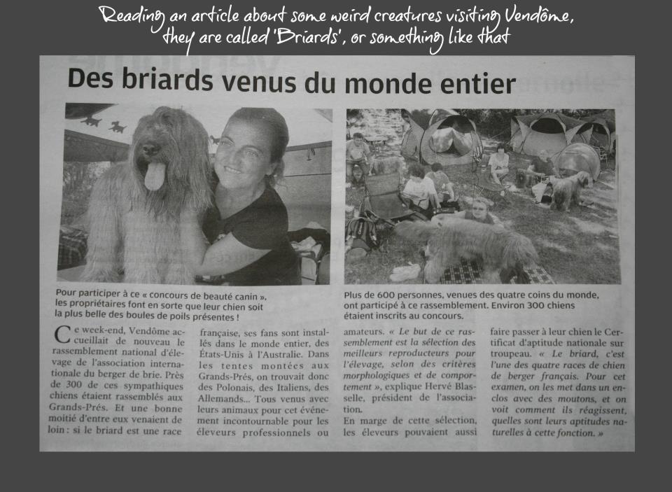 VENDOME 2012 giornale